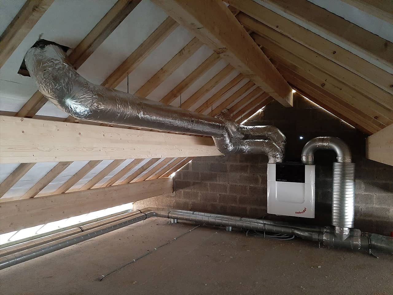 Ventilation double-flux Zehnder Comfoair 450
